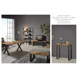 Conjunto madera: Mesa...