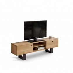 TV Roble 140 cm- Mesa TV,...