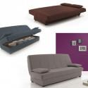 0T6682BO-Mueble de Salón-Comedor Belus, Color Blanco Brillo–Negro Brillo.