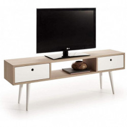 Mueble TV Madera Roble...